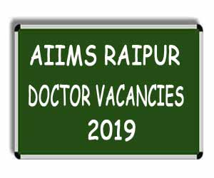AIIMS Raipur releases 28 Vacancies for Senior Resident Post, Details