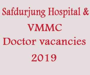 JOB ALERT: Safdarjung Hospital Delhi releases 178 Vacancies for JR... - Medical Dialogues
