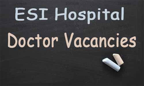 JOB ALERT: ESI Hospital Delhi releases 38 vacancies for SR, Specialist posts in various Specialties