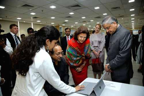 When Queen of Sweden came to AIIMS Delhi ...