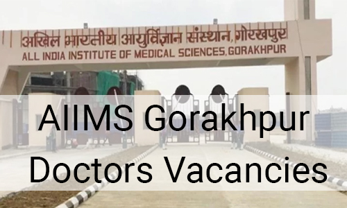 Junior Resident vacancies at AIIMS Gorakhpur; APPLY NOW