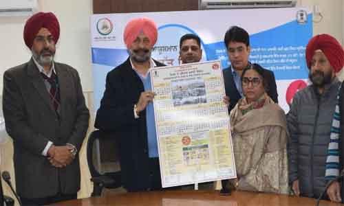 Balbir Sidhu releases Health Days calender-2020