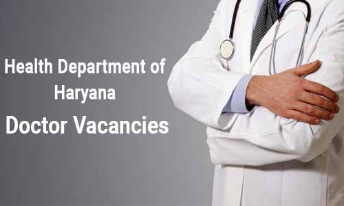 JOB ALERT: Haryana Health Department releases 447 Vacancies for Medical Officer post