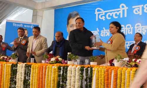 Satyendra Jain lays foundation stone of building to expand forensic science lab