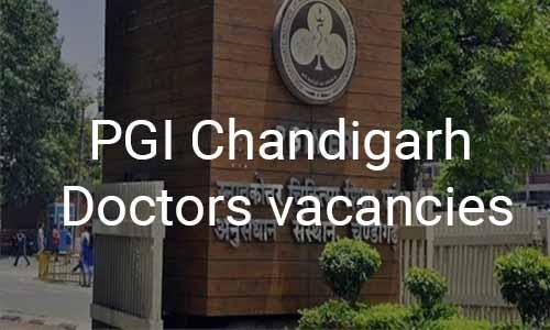 PGI Chandigarh releases vacancies for Assistant Professor Post in 9 Specialities